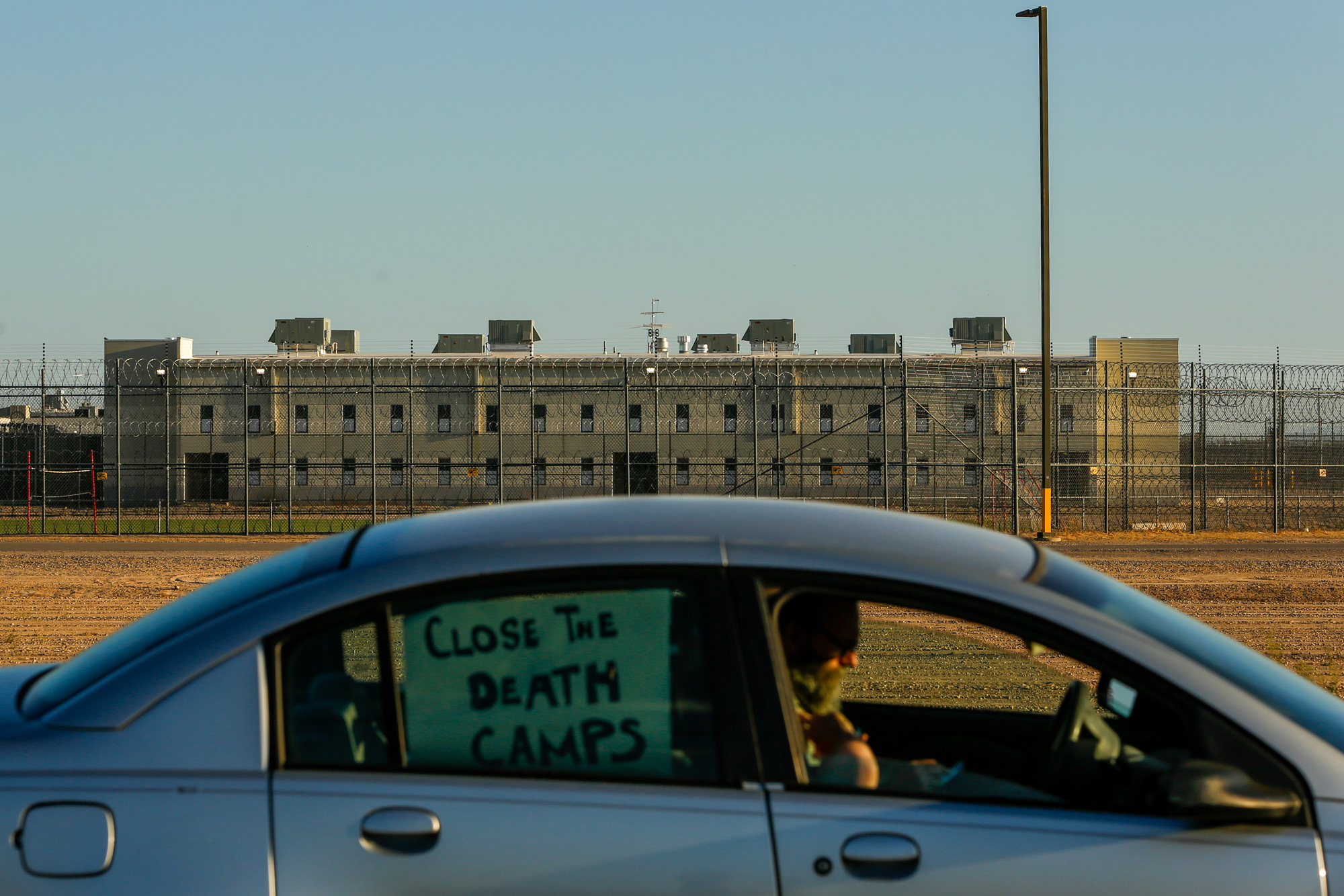Tensions skyrocket as COVID-19 fears grip Arizona detention center